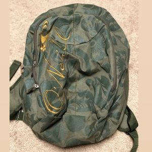 Olive Green Oneill Backpack